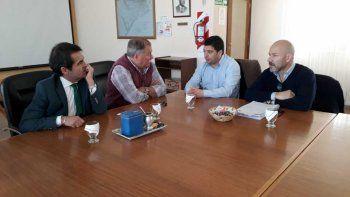 fiscales entrevistaron a directivos de la scpl y empresarios de comodoro