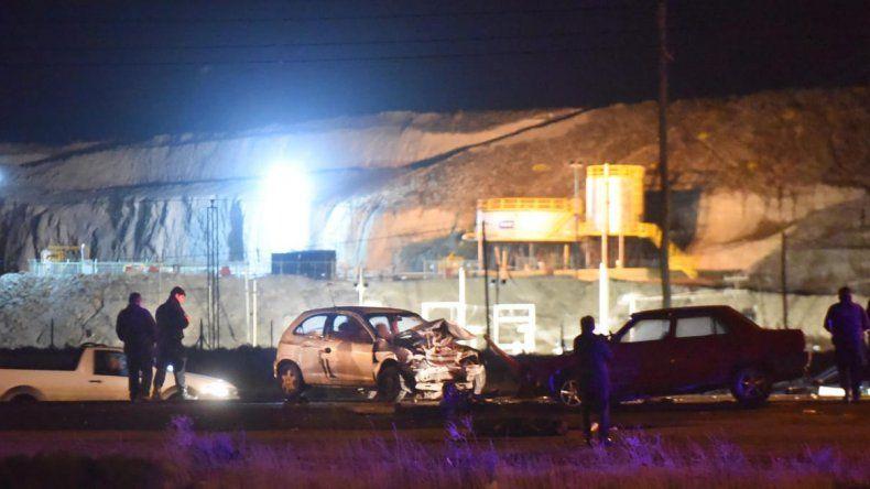 Cinco personas heridas tras choque frontal sobre Ruta 1