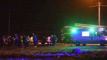 Murió uno de los jóvenes que protagonizó el accidente en Ruta 1