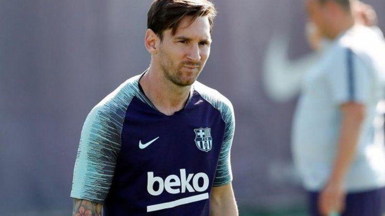 El rotundo cambio de look de Lionel Messi