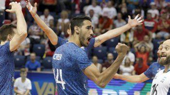 Pablo Crer y toda Argentina festeja el histórico triunfo ante el campeón del mundo Polonia.