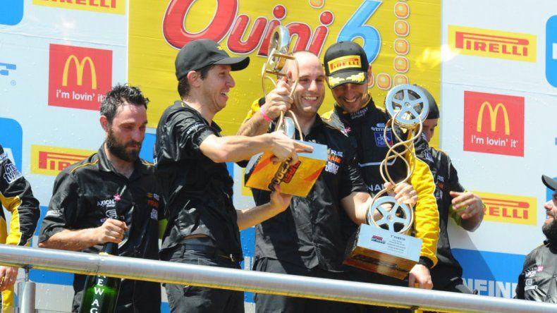 Ardusso tuvo un fin de semana perfecto en el Super TC2000