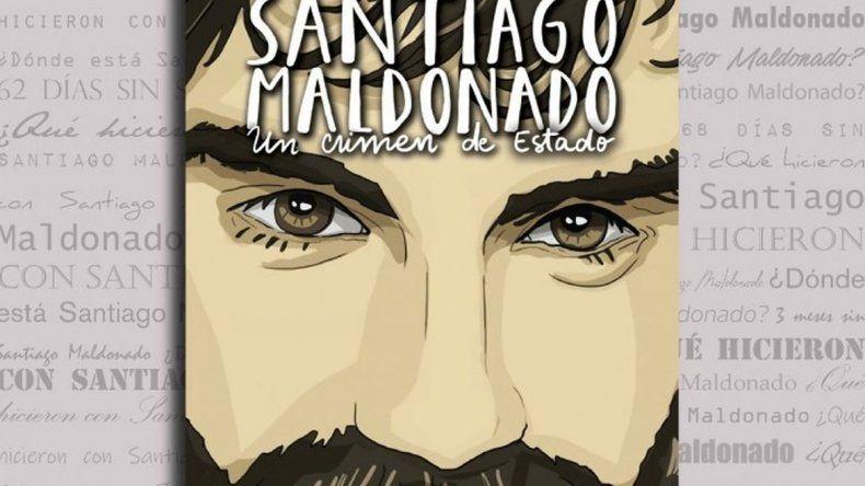 Presentarán en Comodoro el libro Santiago Maldonado: Un crimen de Estado