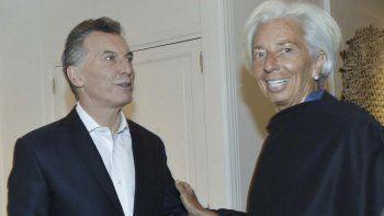 Macri apela a Lagarde para que el FMI le haga otro préstamo a su gobierno.