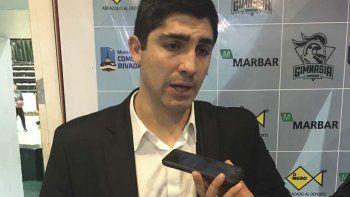 Martín Villagrán destacó el triunfo de Gimnasia ante Peñarol por el comienzo del Torneo Super 20.