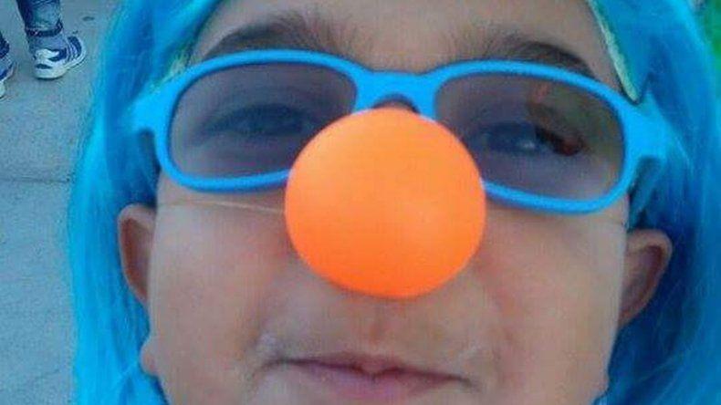 El niño de la nariz naranja - Thiago.