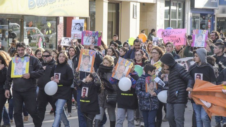 Más de 200 personas pidieron justicia para Brian Gómez