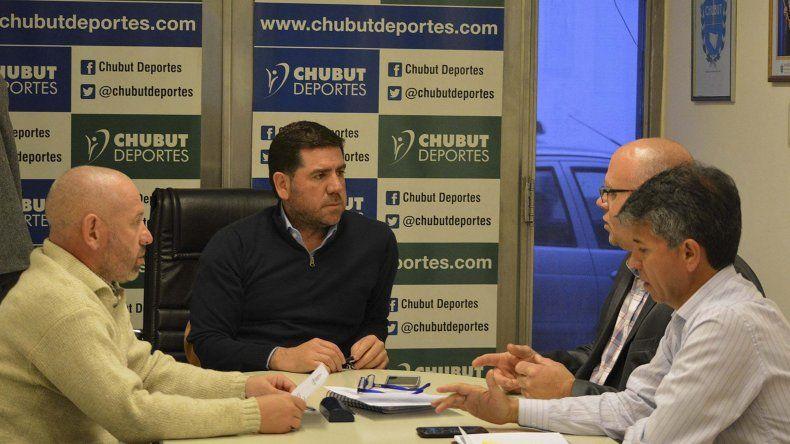 El presidente de Chubut Deportes