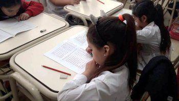 Seis escuelas primarias de la provincia participaron de la prueba piloto ERCE