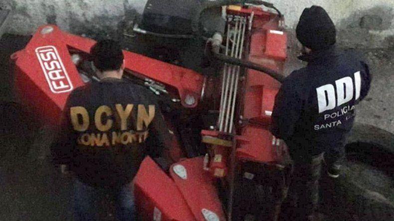 Apareció en Caleta una hidrogrúa robada en Comodoro