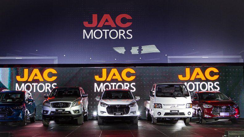 La automotriz JAC Motors ya desembarcó en el país