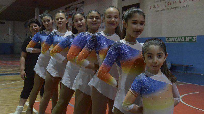 El equipo de patín de la CAI que tomará parte del torneo internacional que se realizará en Brasil.