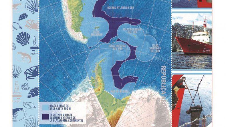 Chilenos reclaman por sello postal que incluye a Magallanes