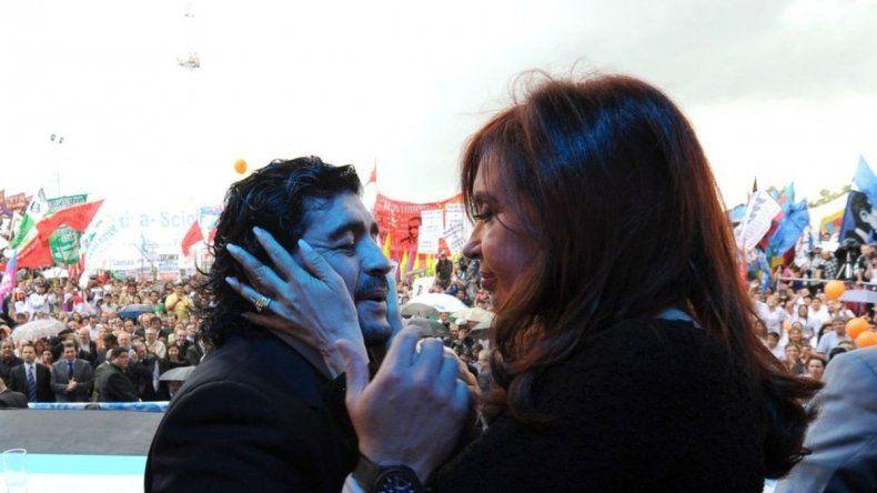Maradona se postuló para ser vicepresidente en fórmula con Cristina