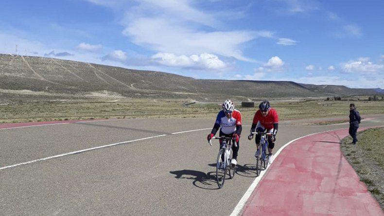 El autódromo local volvió a ser escenario del ciclismo de ruta.
