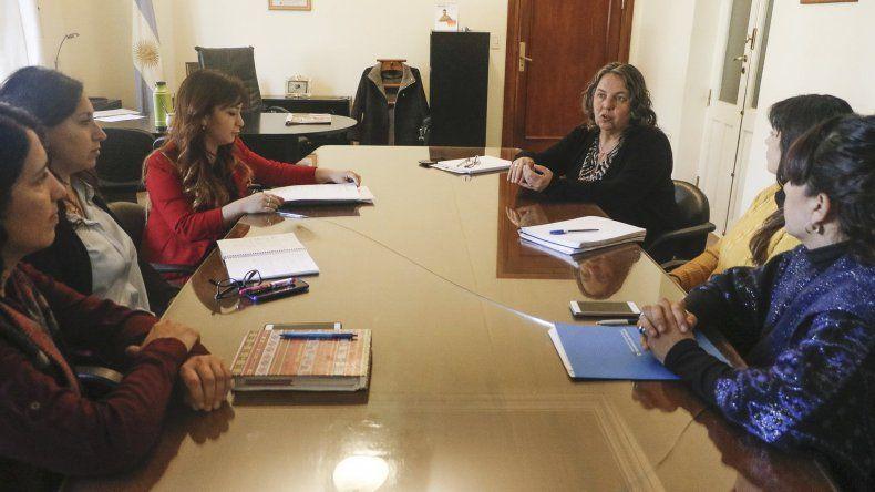 Saunders recibió a coordinadora nacional del Ministerio de Salud