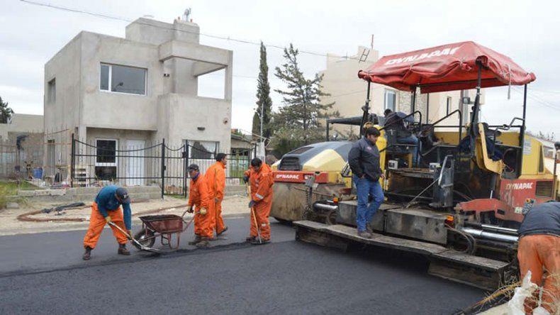 Invertirán seis millones de pesos en obras de pavimentación