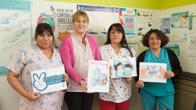 Rada Tilly se suma a la campaña de vacunación contra el sarampión y la rubeola