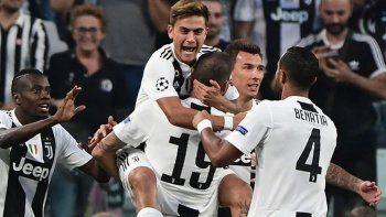 Dybala le dio el triunfo a la Juventus en la Champions