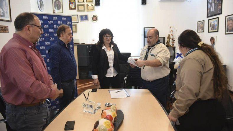 El intendente ratificó su acompañamiento a sectores que realizan tareas solidarias con la comunidad.