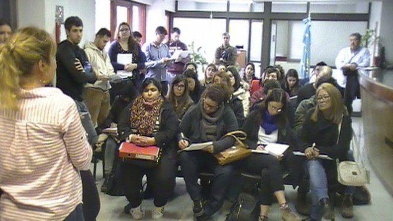 Estudiantes de la Facultad de Derecho visitaron la sede Trelew del Ministerio Público Fiscal.