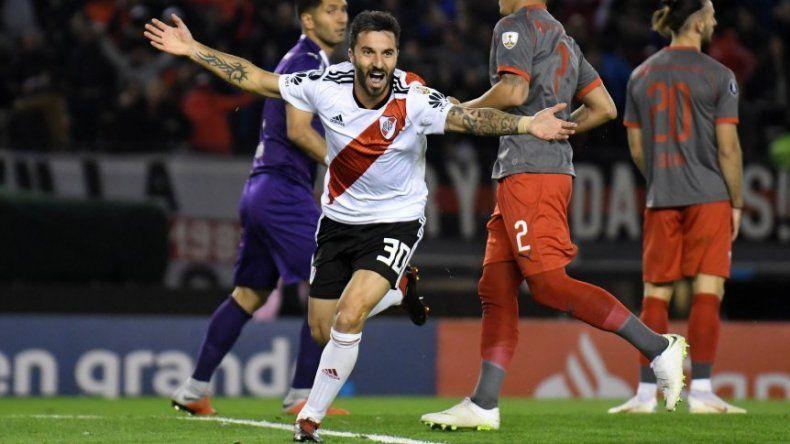 River pasó a Independiente y es semifinalista de la Libertadores
