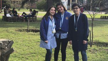 El representativo del Colegio 704 de Biología Marina, de Comodoro Rivadavia.