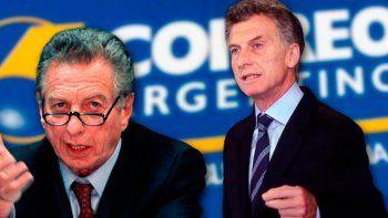 Mauricio Macri se excusó de intervenir en la causa del Correo Argentino