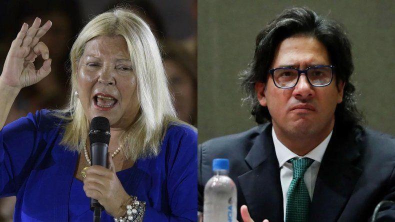 Lilita Carrió ratificó el pedido de juicio político a Germán Garavano