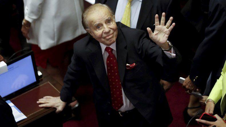Casación confirmó la pena de 4 años a Menem por sobresueldos