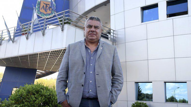 Claudio Tapia aseguró que la AFA todavía no habló con ninguno de los entrenadores que se mencionan como candidatos para dirigir a la selección.