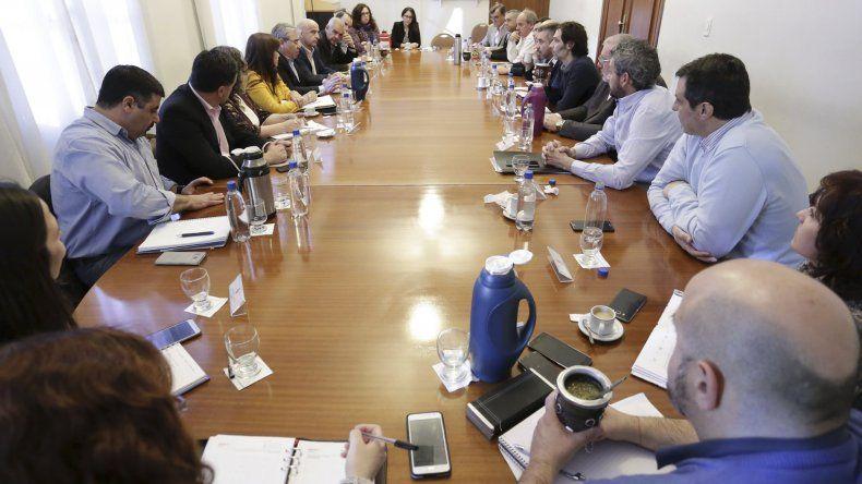 En reunión de gabinete