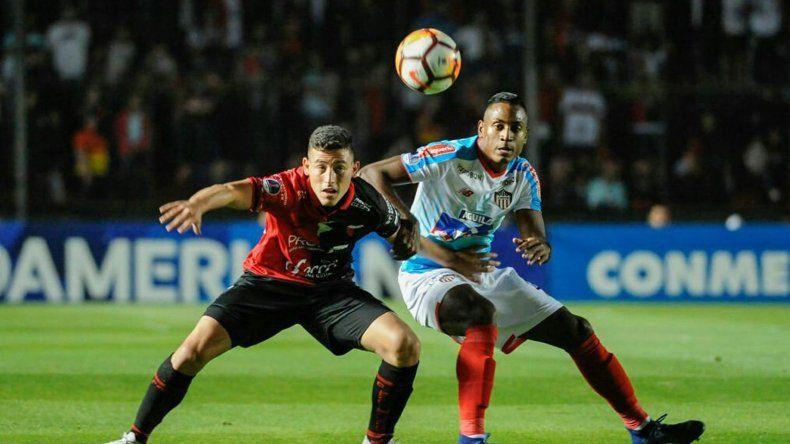Colón empató y quedó eliminado de la Sudamericana