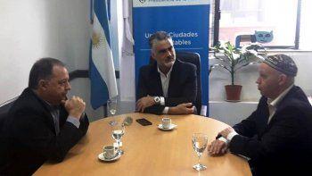 arzani se reunio con el secretario nacional de ambiente para delinear una agenda en comun