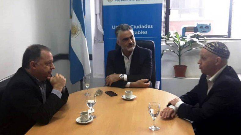 Arzani se reunió con el secretario nacional de Ambiente para delinear una agenda en común