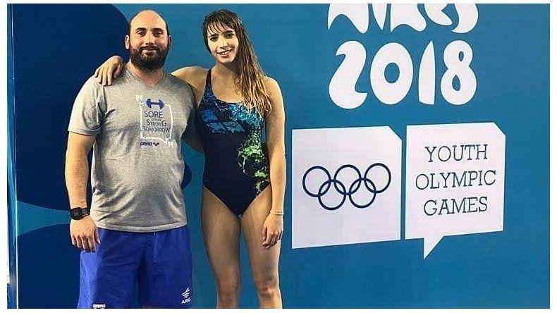 La chubutense Julieta Lema debutó en los Juegos Olímpicos de la Juventud