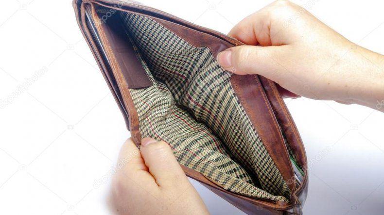 Los salarios caerán un 11% en promedio este año