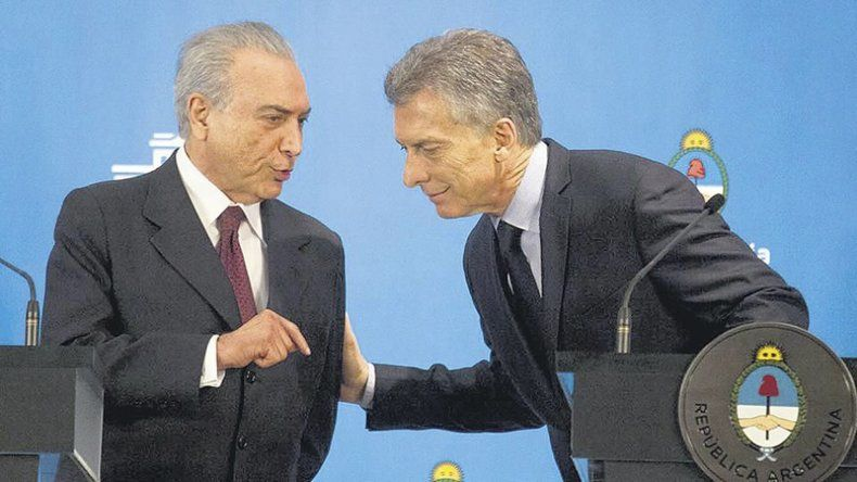 Macri mantuvo buenos vínculos con Temer