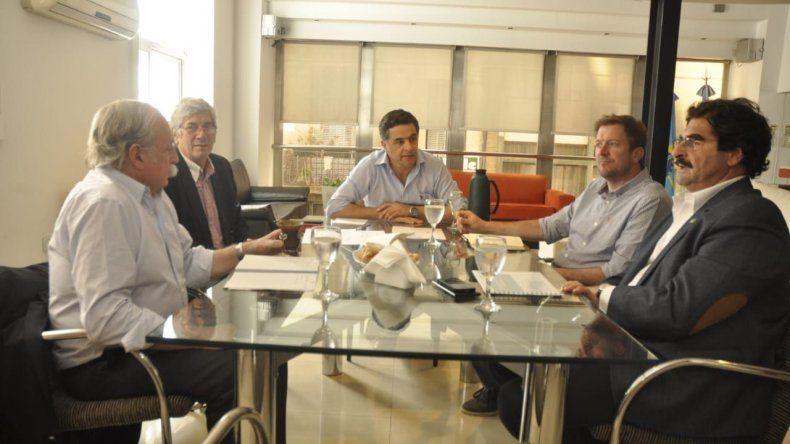 Chubut lideró reunión de Ministros de Producción patagónicos
