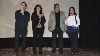 El acto de evocación se llevó a cabo en el teatro del Colegio María Auxiliadora.