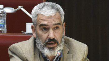 El diputado Adrián López fue quien elaboró el proyecto de repudio.