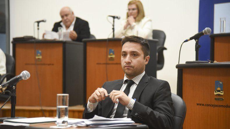 El concejal Caridi reclamó que por ahora Camuzzi se abstenga de requerir el cobro de cualquier suma de dinero con causa en dicha norma.