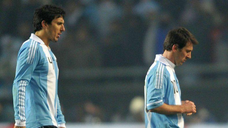 El día en que Burdisso y Messi casi se van a las piñas