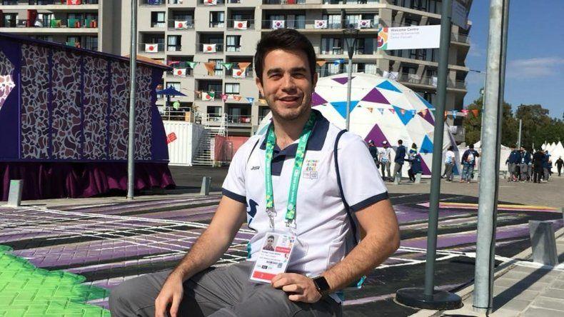 Santiago Menna: con tiempo para la facultad y dar una mano en los Juegos Olímpicos