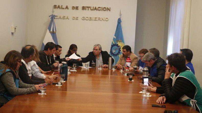 Provincia trabaja en nuevo Convenio Colectivo de la administración pública central