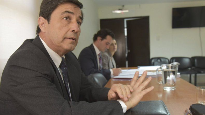 Ayer declaró en Caleta Olivia el contralmirante retirado Angel Cuccorese