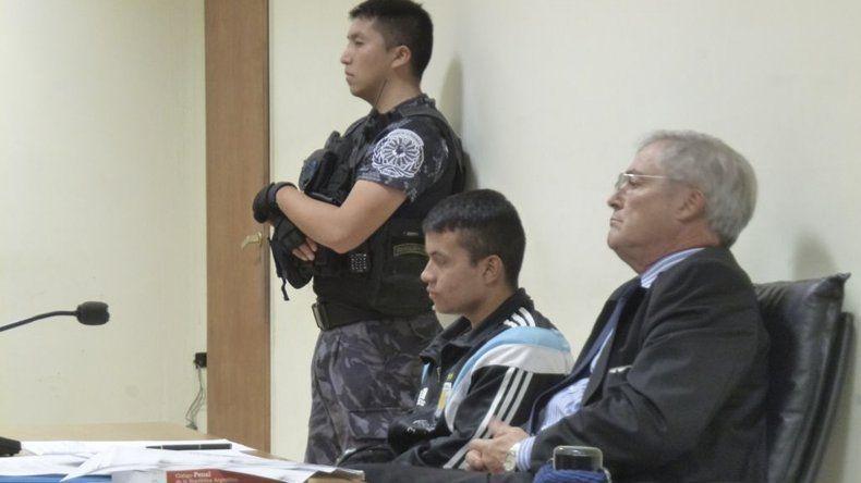 Miguel Sotelo cumple prisión en Trelew y participó de la audiencia de ayer mediante el sistema de videoconferencia.