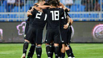 argentina goleo a irak
