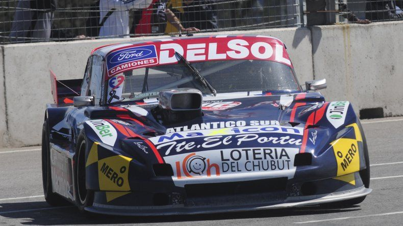 Marcelo Agrelo (Ford) marcha tercero en la Copa de Plata del TC Pista.