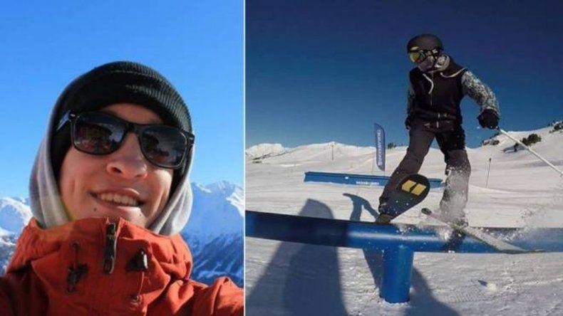 Murió un esquiador en La Hoya, se preparaba para competir